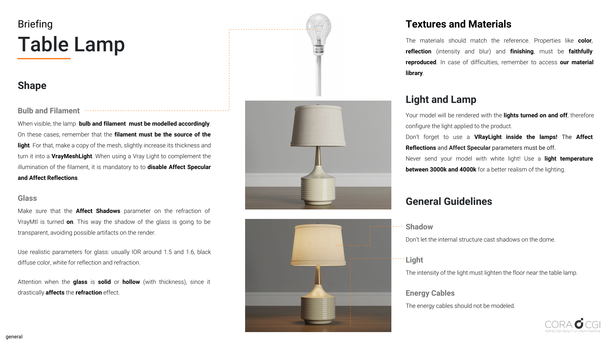 Cora CGI - #251 - Table Lamp - EN