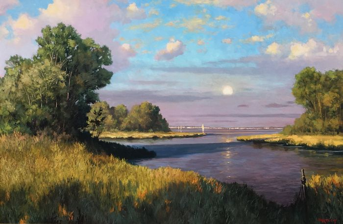 Fresh Expressions:  Late Summer Paintings and Sculpture - through Sept. 20