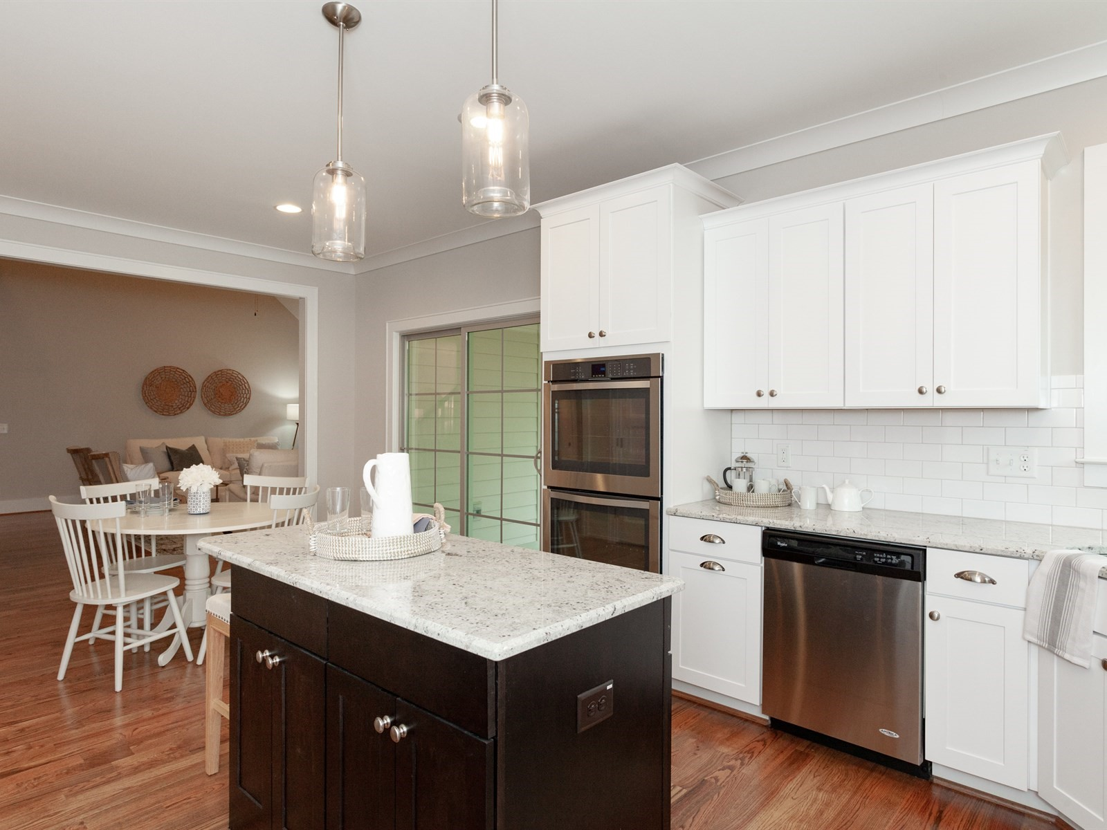 Wake-Forest-Home-Staging-New-Construction-Kitchen-Eat-In