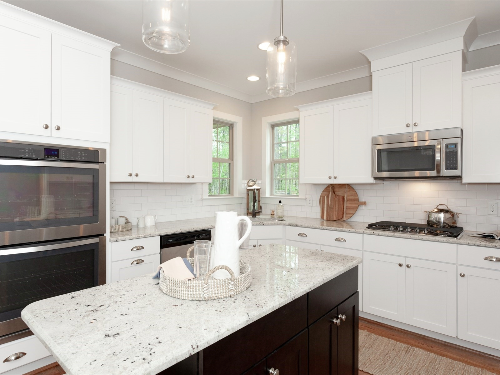 Wake-Forest-Home-Staging-New-Construction-Kitchen-Island
