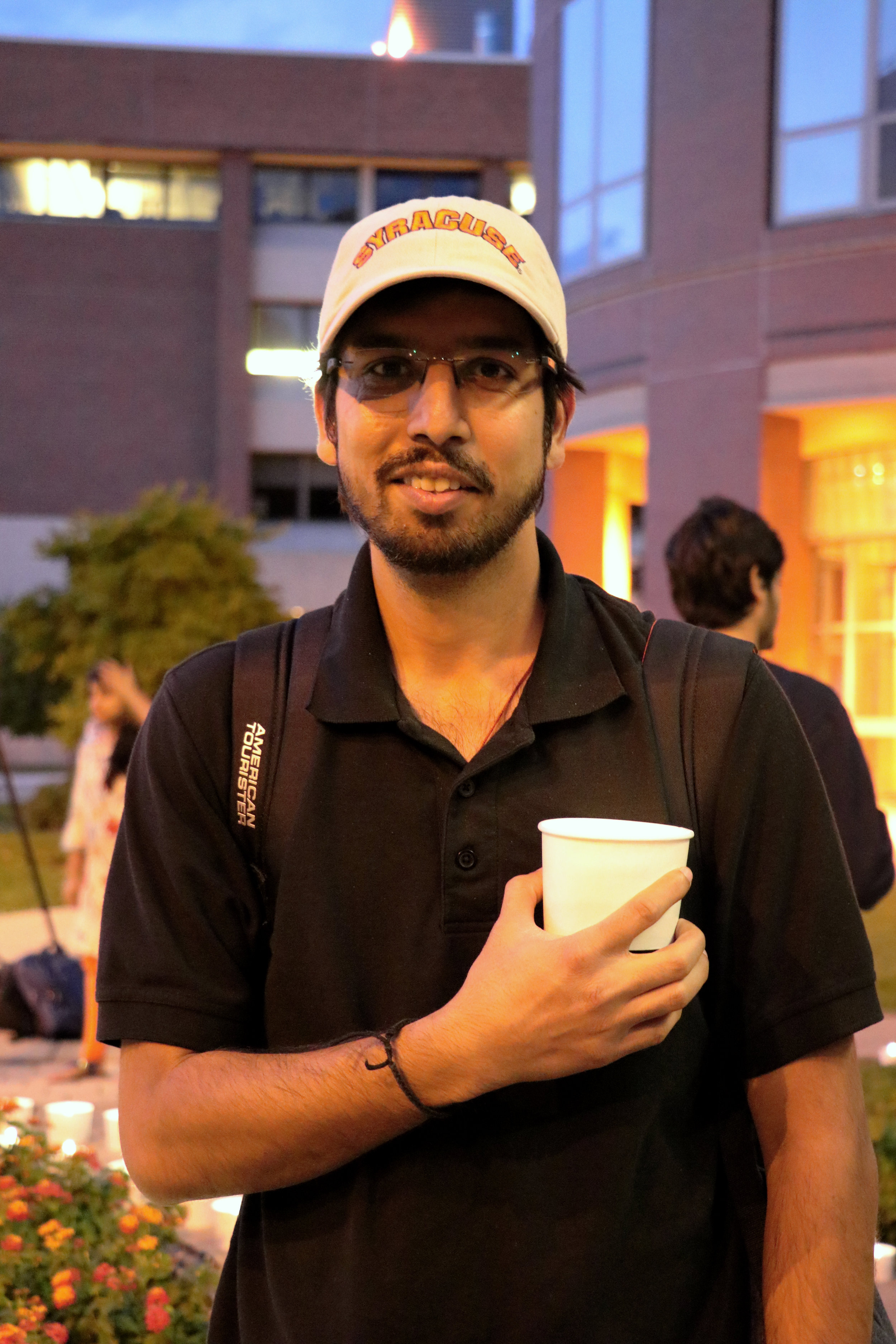 Rohit Manglik, first-year graduate, is from New Delhi and studies engineering management. Photo by Saniya More.