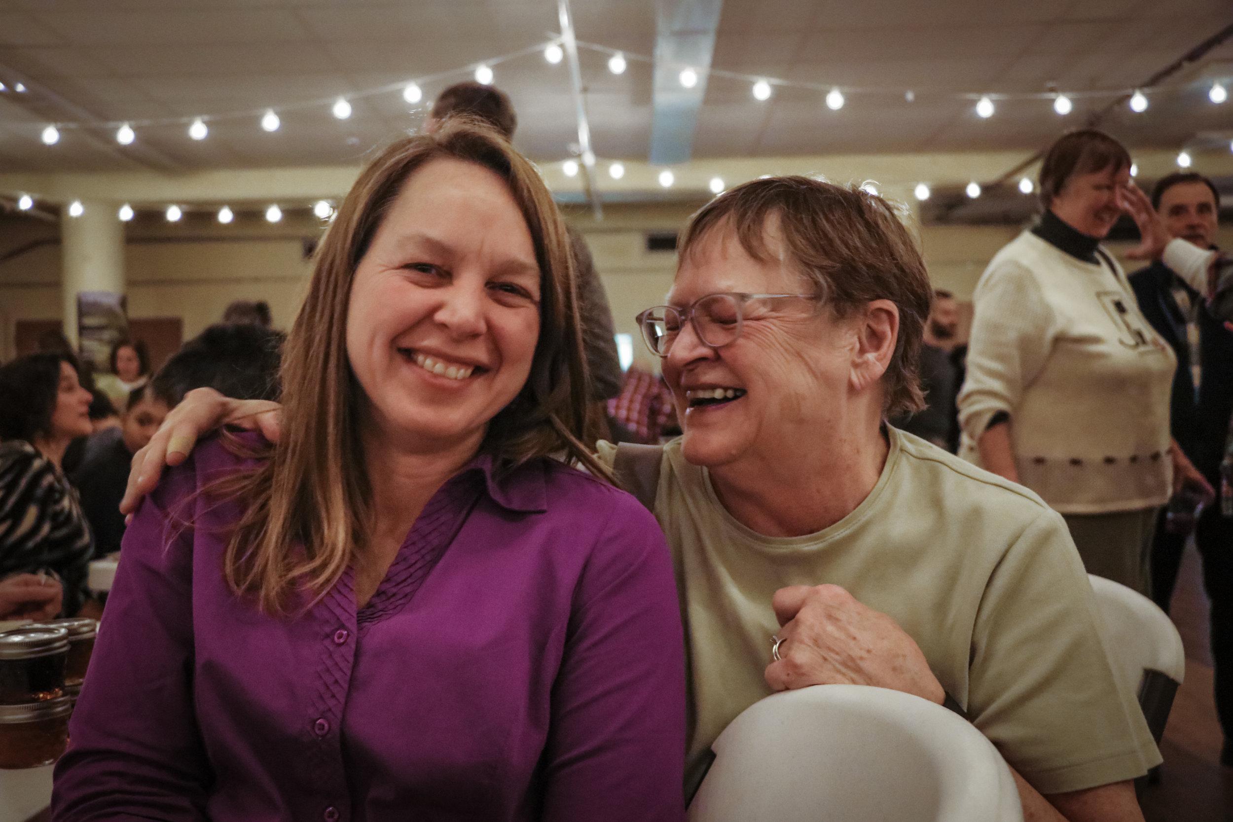 Sarah Eisel and Randy Wheat
