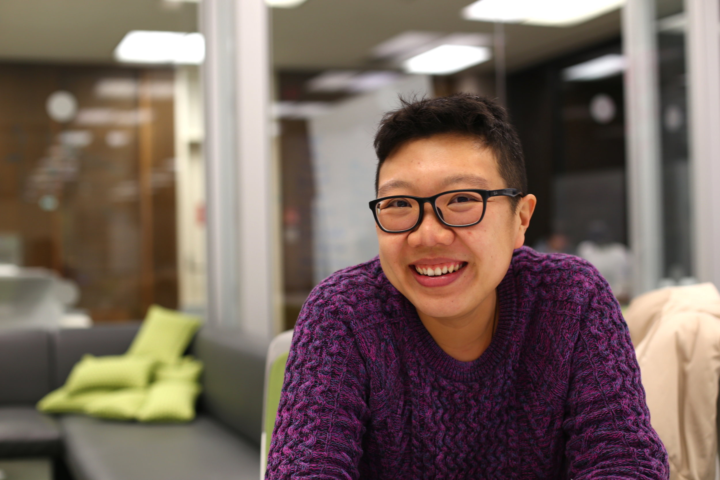 Seok Wun Au Yong is a Fulbright Scholar in the third year of her master's program in film studies at the College of Visual and Performing Arts. Photo by  Jiaman (Maggie) Peng .