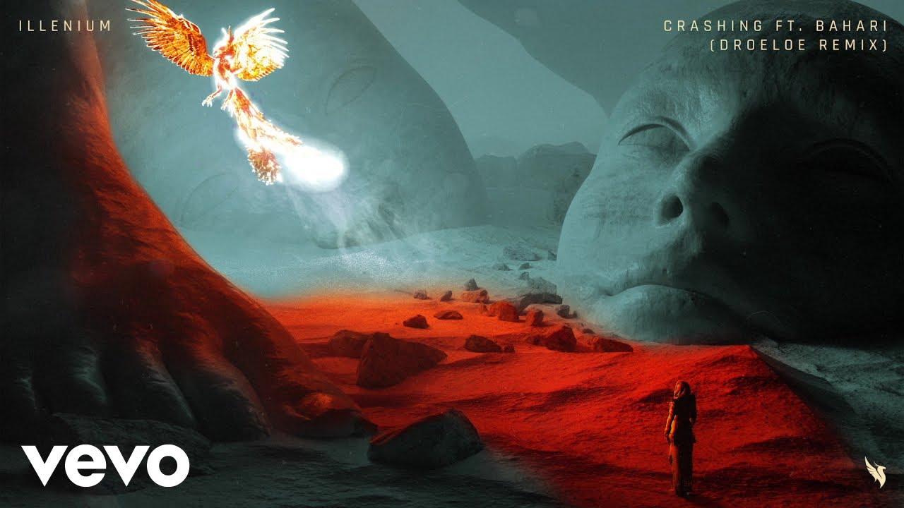 "Still from: ""CRASHING (FEAT. BAHARI)"" -- ILLENIUM (DROELOE REMIX) [NETHERLANDS]"