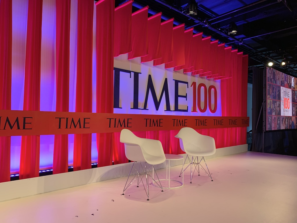 The Time 100 Summit took place on April 23, 2019 in New York City. Photo Courtesy:  Rashika Jaipuriar