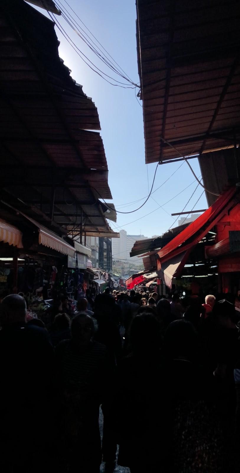 A peek into the market in Old Jaffa, Tel Aviv