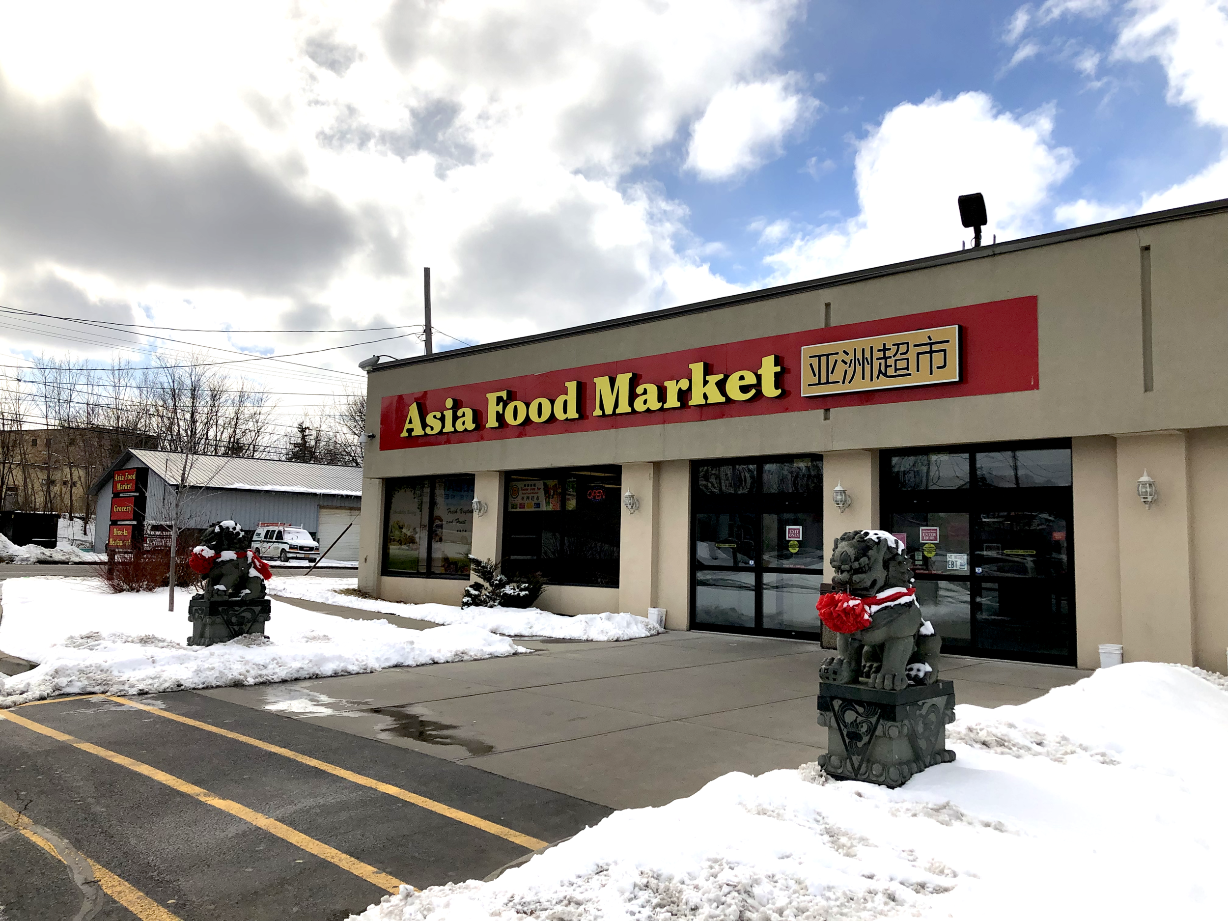 Asia Food Market opened its doors to Syracuse in 2014 and has been providing local residents with food, condiments and utensils from the other side of the Pacific. Photo by:  Kaizhao (Zero) Lin