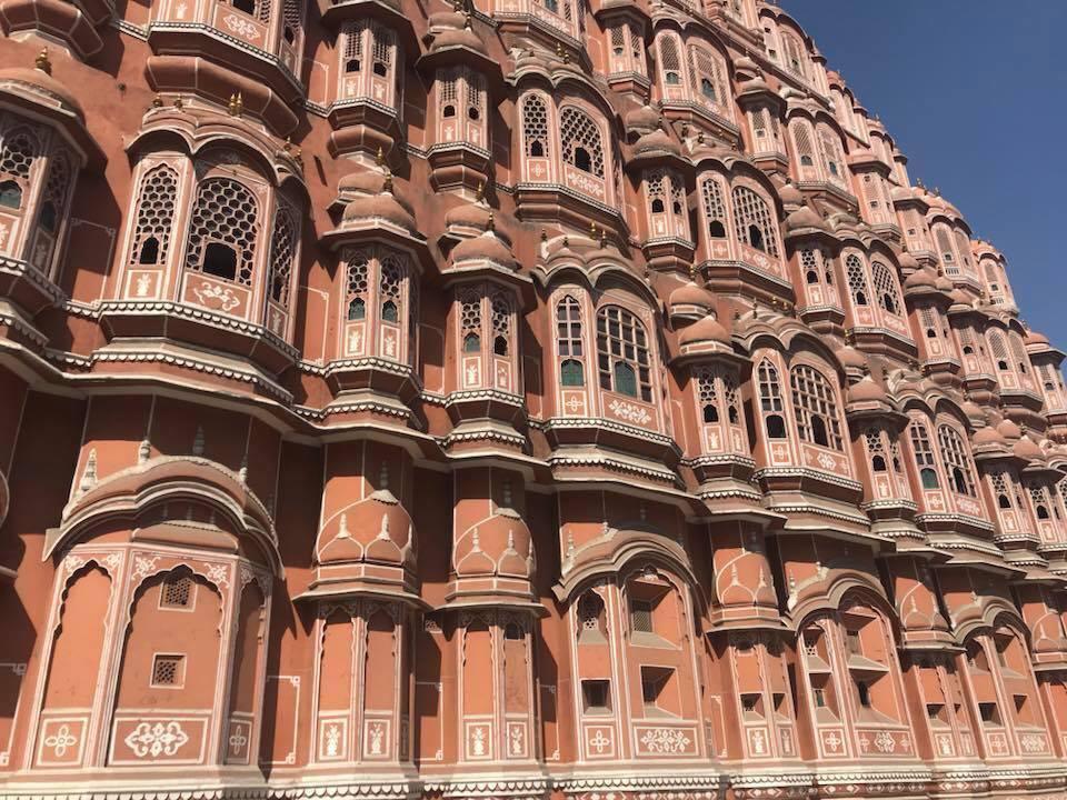 Hawa Mahal: Jaipur, Rajasthan. Photo courtesy:  Ishana Sahabir