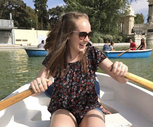 One of Murrer's favorite things to do in Spain is going on boat rides in Retiro Park, one of the largest parks in Madrid. Photo courtesy: Jacqueline Murrer