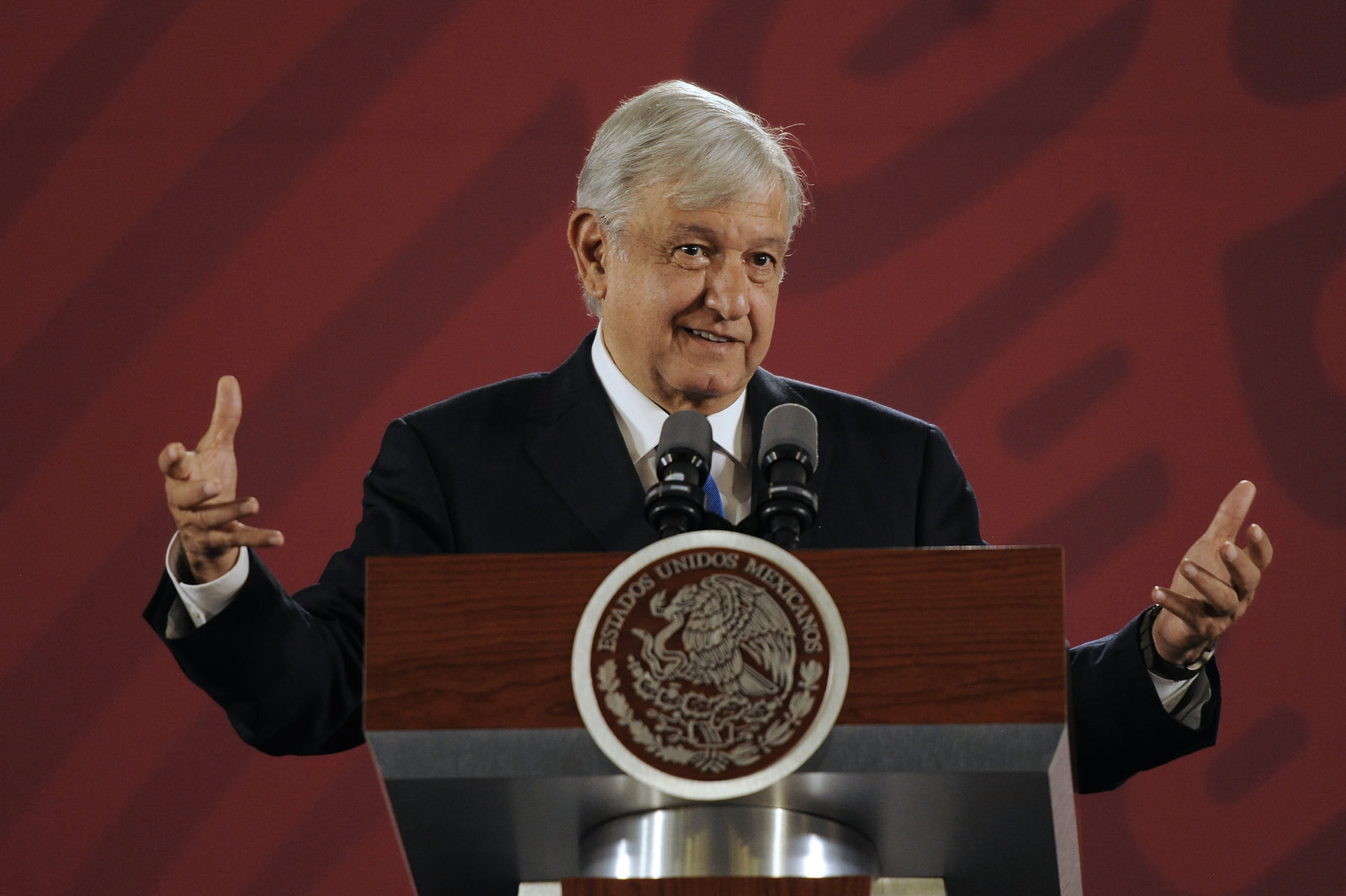 Mexican President Andrés Manuel López Obrador has not been to any international conference so far. Critics said it is a damage to their national image. Photo Courtesy: Pedro Martin Gonzalez Castillo | Getty Images