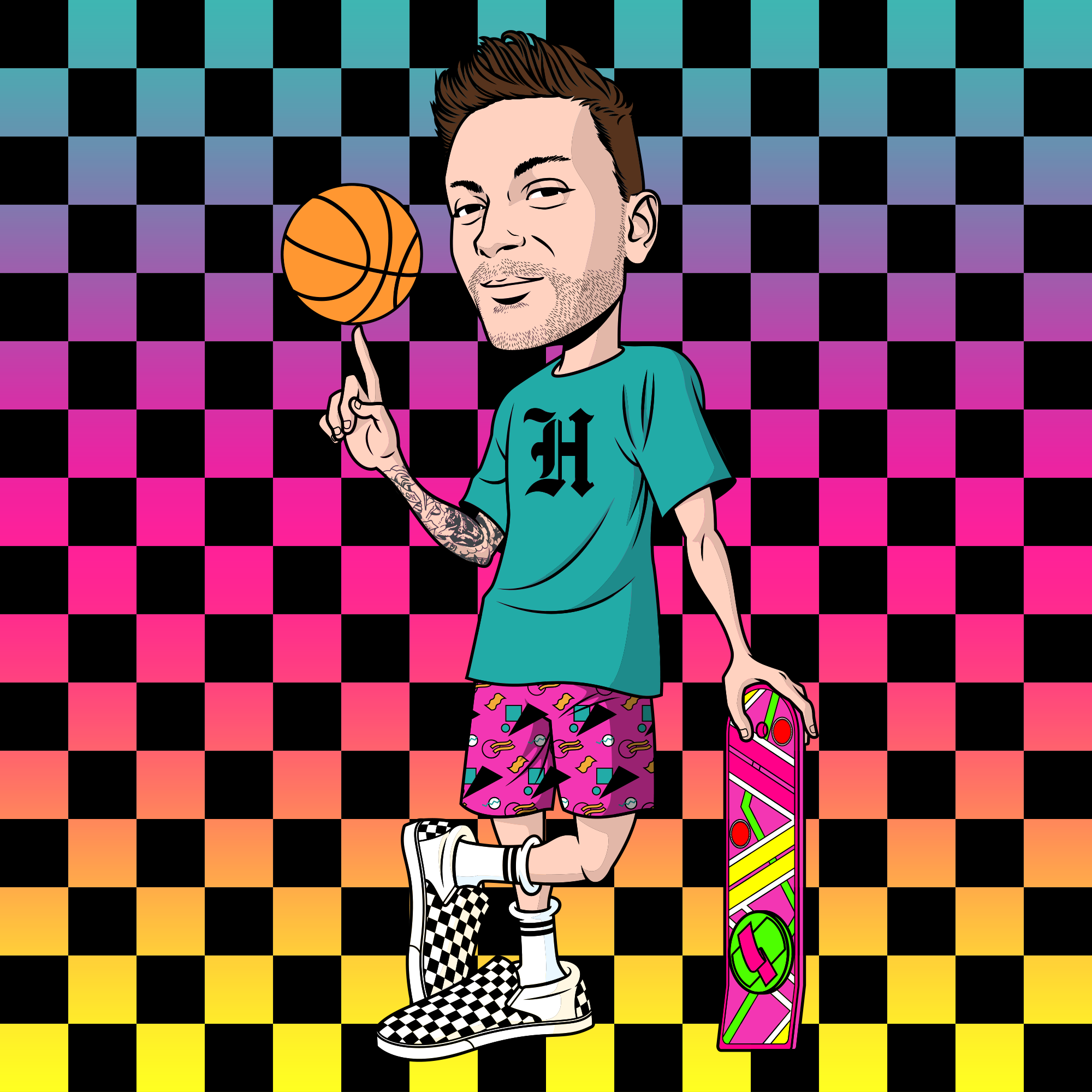 The HARDWOOD HERALD is a multi-media basketball website by Corey Tulaba; serving you bad takes on basketball, pop culture, and other stuff. - Corey Tulaba- Author- Creative Director- Art & Graphic Design- Video- Music