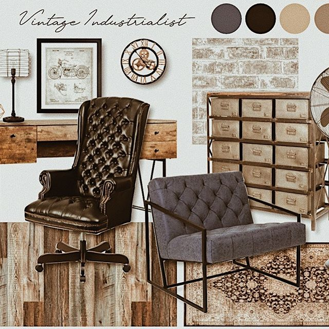 I'm working on several projects right now PLUS it's Thursday so let's do a #tbt is that still a thing?  Is it considered vintage yet?  Well then if so let's throw it back to this vintage style inspiration I created for my website.  I have always loved incorporating some industrial pieces in all of my own personal home decor so this was super fun to create!  Visit our website for more style inspirations and happy #tbt . . . Follow Us @andisinteriorschelsea . . . #vintage #industrial #retro #heyhomehey #designsponge #myhousebeautiful #hgtvstyle #fixerupperstyle #howyouhome #interior4all #homesofig #homestyle #makeyourhomeyourhaven #interiorstyling #finditstyleit #howyouhome #thenewsouthern #interiordecor #homedecor #inspotoyourhome #interiorliving #interiordesign #chelseami #dextermi #annarbor #northernmichign #puremichigan #michiganhomes #andisinteriors