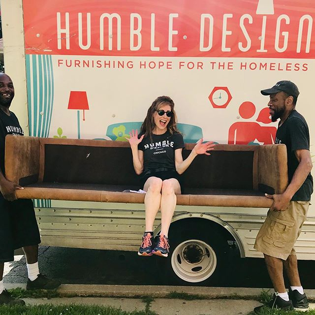 Today, Humble Design welcomed home a loving mom and her 4 year old son - an avid superhero fan!  After 3 years of being homeless and sleeping on trains, this family finally has an apartment to call their own. Mom's immense gratitude and tears melted our hearts🧡  To learn more about Humble Design or to donate to our mission, find us at https://www.humbledesign.org/chicago  #humbledesign #humblewarriors #dogood #makeadifference #furnishinghope #wonderfulwednesdays