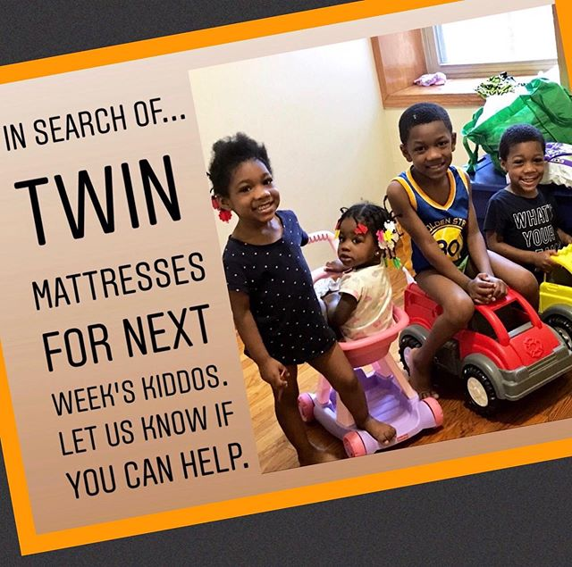 Got TWIN mattresses? We need your help. Let's get these kids off the floor and in to warm beds of their own.  To learn more about Humble Design and our mission, https://www.humbledesign.org/chicago  #humbledesign #humblewarriors #dogood #makeadifference #wishlistwednesday