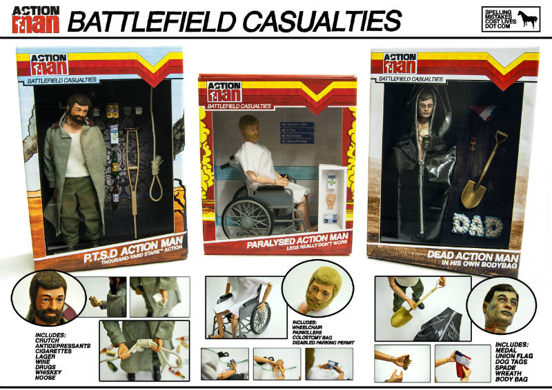 Battlefield Casualties toys