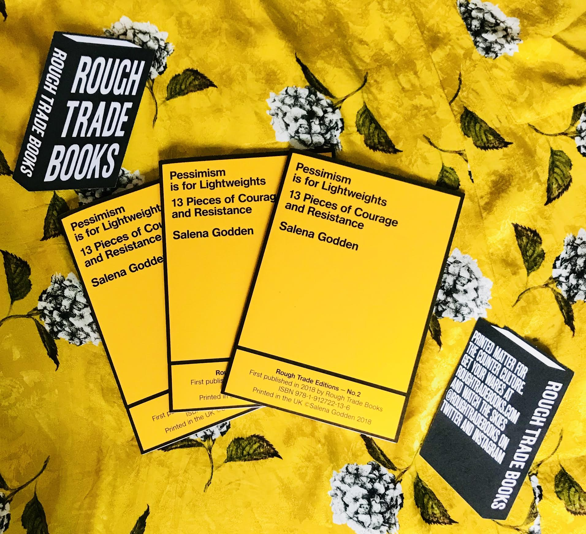 Pessimism is for Lightweights, Rough Trade Books