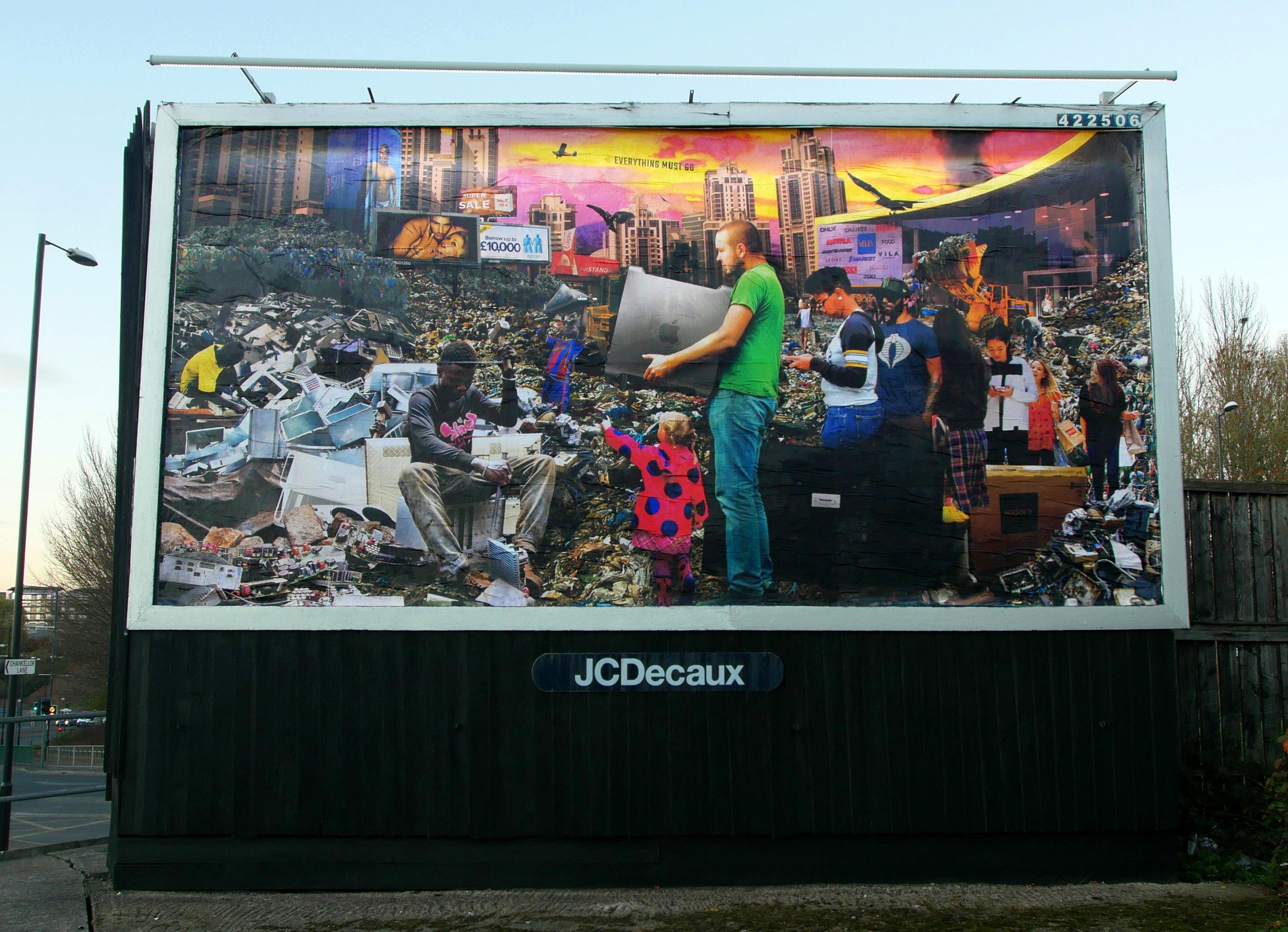 Waste World billboard