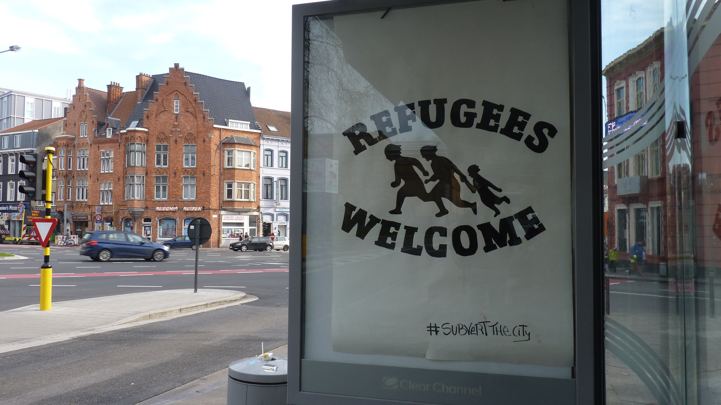 Refugee Welcome, Belgium, 2017