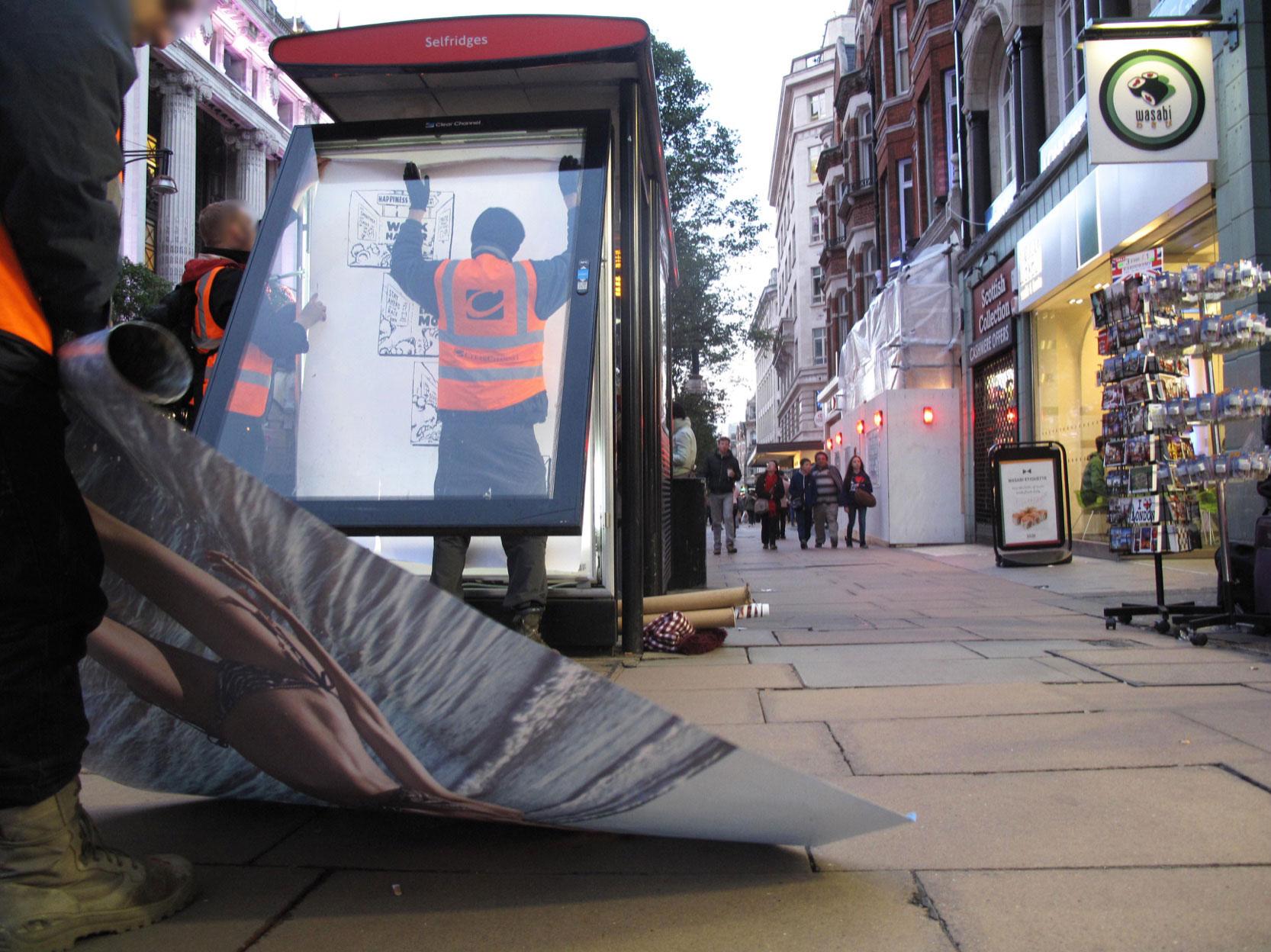 Install, London