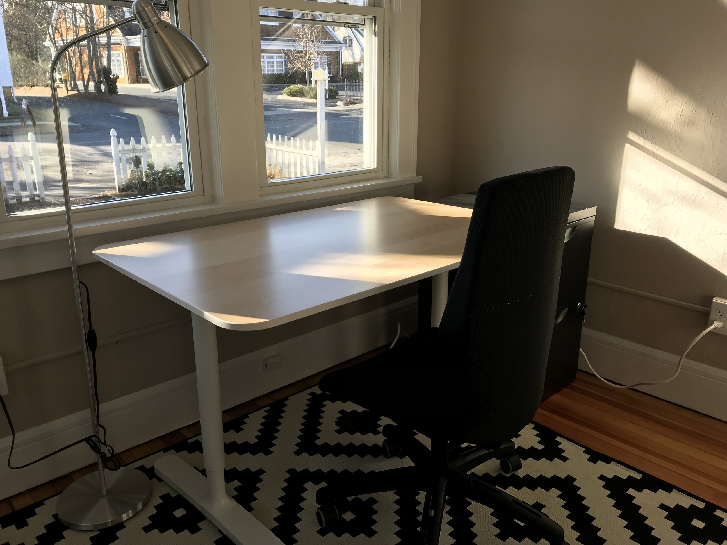 Sun Room dedicated desk