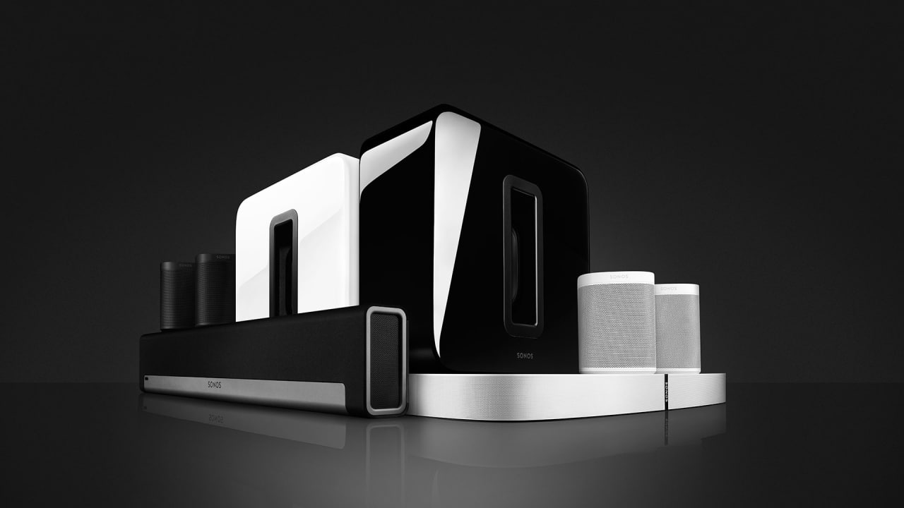 SONOS - Sonos is the wireless Home Sound System that fills as many rooms as you want with great-sounding music, movies and TV. Stream via WiFi. Play whatever you're craving. And amp up every moment with intense, pulse-pounding sound.