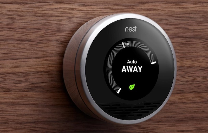 Nest HVAC control - Nest thermostats also integrate very well with Lutron controls and the Home App