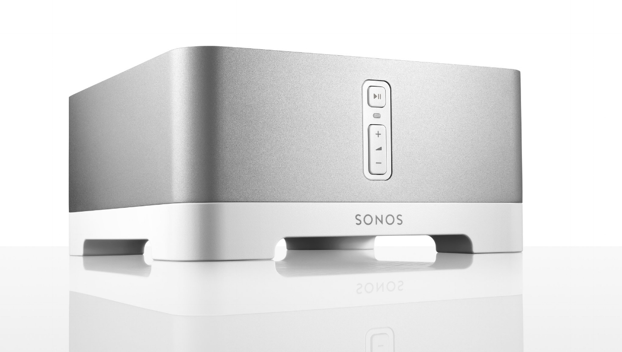 SONOS Power - If you are looking for a more typical whole home audio system by way of in ceiling and in wall speakers. Sonos is still the ultimate solution for powering them and controlling each zone. The Connect amp can power 1 zone up to 4 speakers.