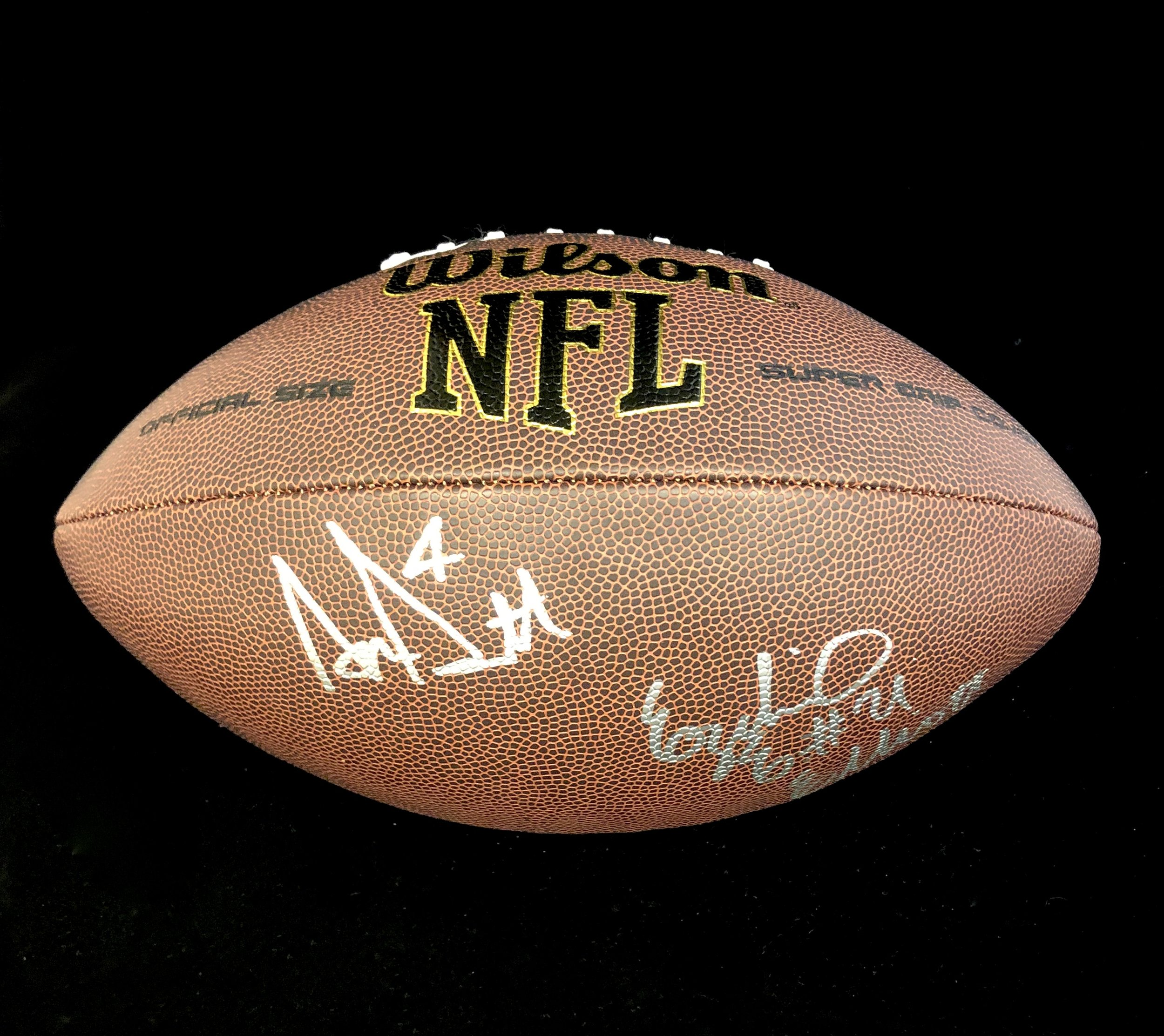 Dak Prescott & Ezekiel Elliott Autographed Football - Donor ~ Gateway Financial Solutions