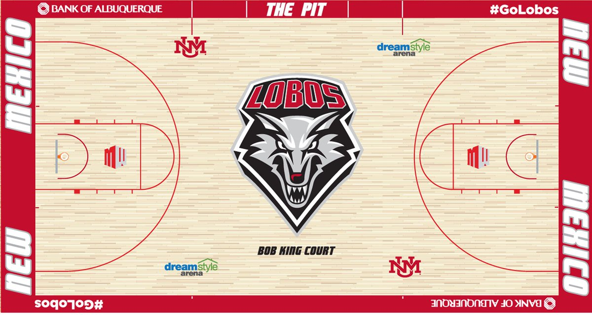 Lobo Basketball Suite Deal - Cheer on your Lobo men's basketball team from a Club Level Dreamstyle Arena suite for 20 people for a game during the 2019-20 season. Includes 7 parking tickets and lobo apparel. (Choice of games subject to availability)Donor ~ UNM Athletic Department