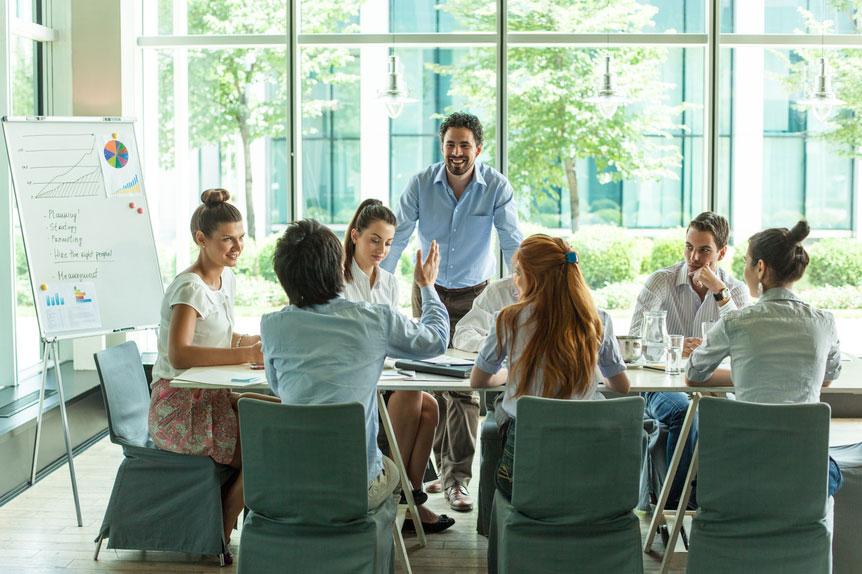A COHORT3 Peer Working Group meeting.