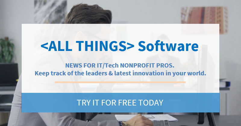 < ALL THINGS> Software news. Try it today for free.