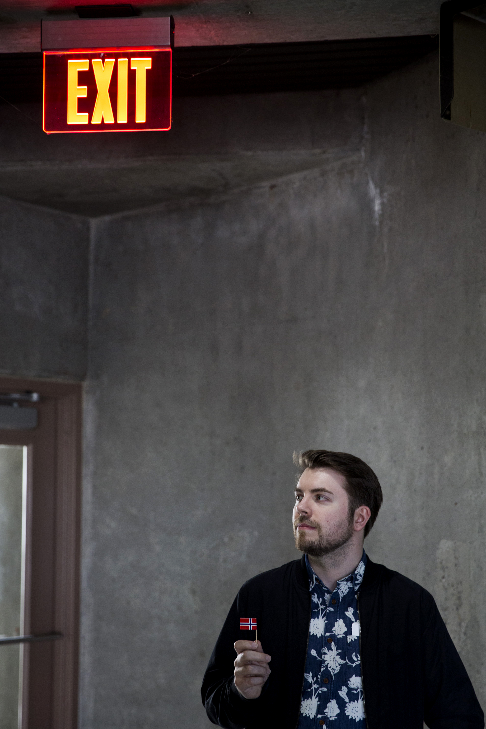 It's time to leave.    Andreas Stassivik, web developer, Seattle