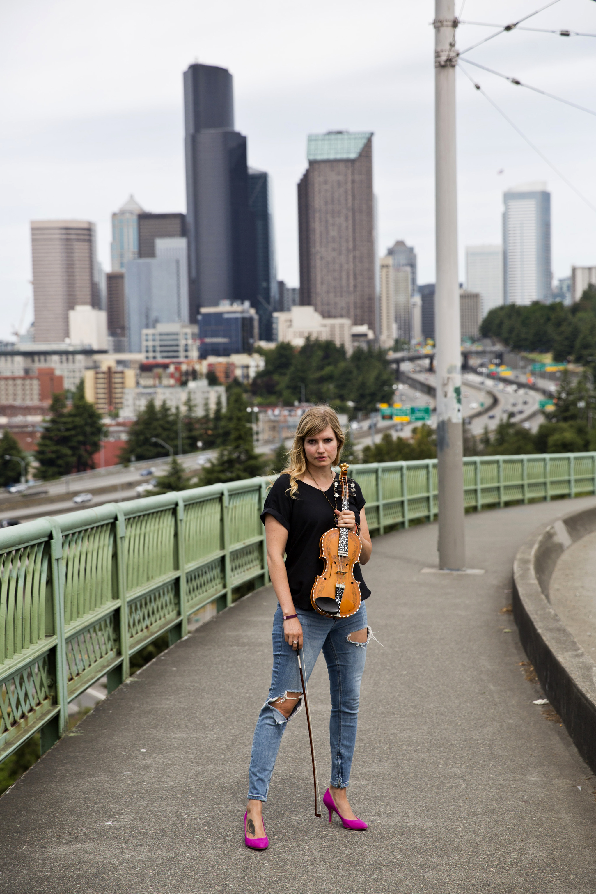 Today is 4th of July. But Norway's national day is much more important to me.   Rachel Nesvig, musician, Seattle