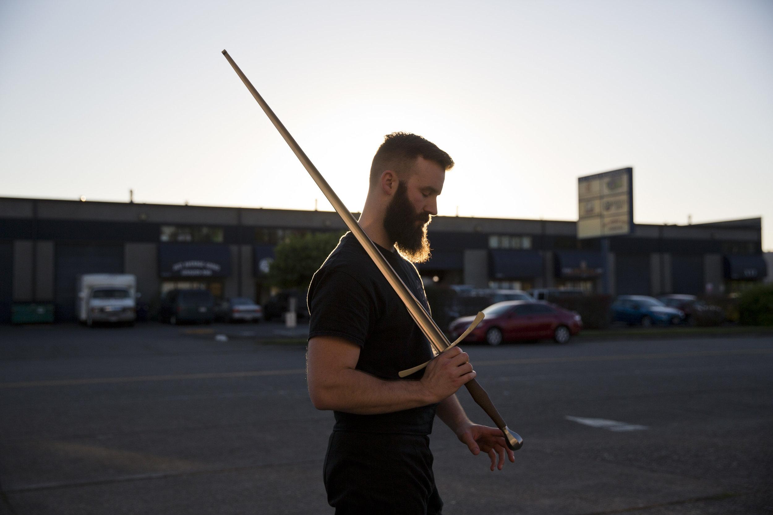 Finally I'm old enough to dress up like a viking and roam around.   Ryan (30), Tacoma.