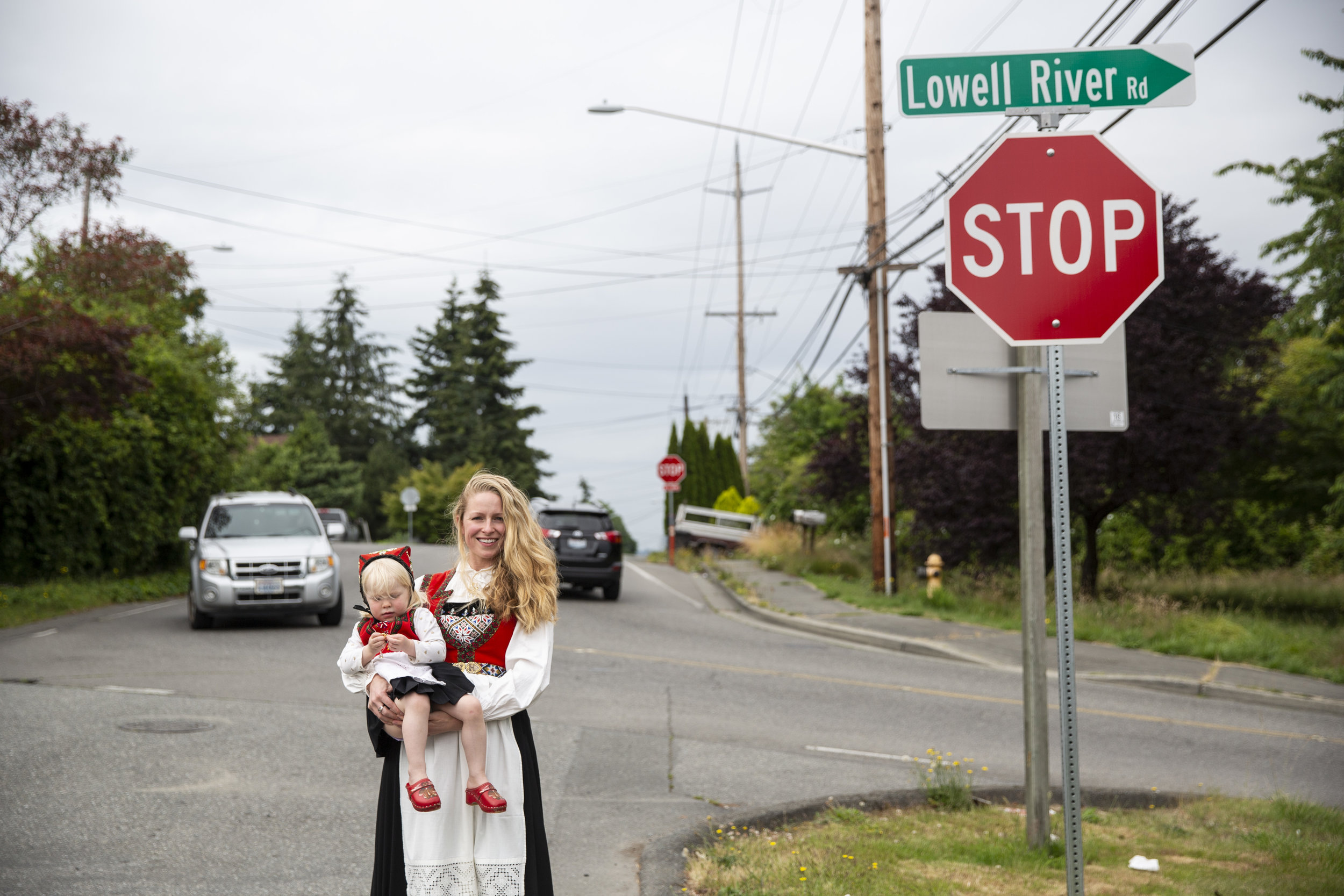 I'm still a bit annoyed with my mother for not teaching me norwegian.   Karina Snare Daily, Dental hygienist, Seattle
