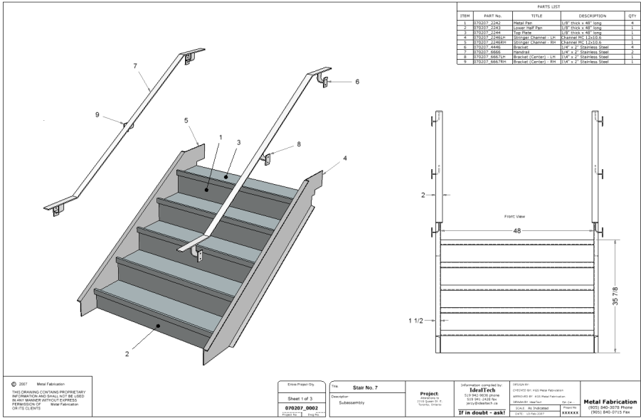 Stairs Subassembly Drawing.PNG