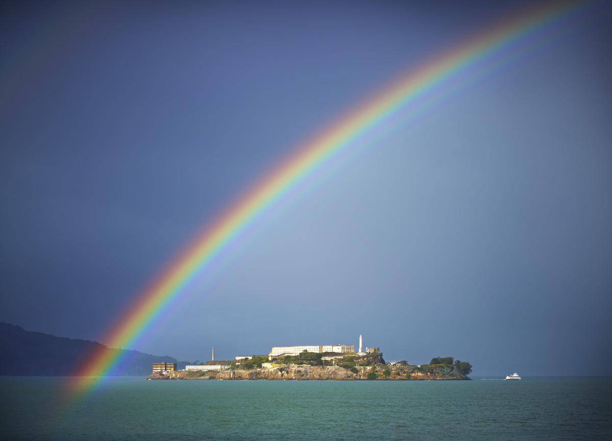 Rainbow Over Alcatraz