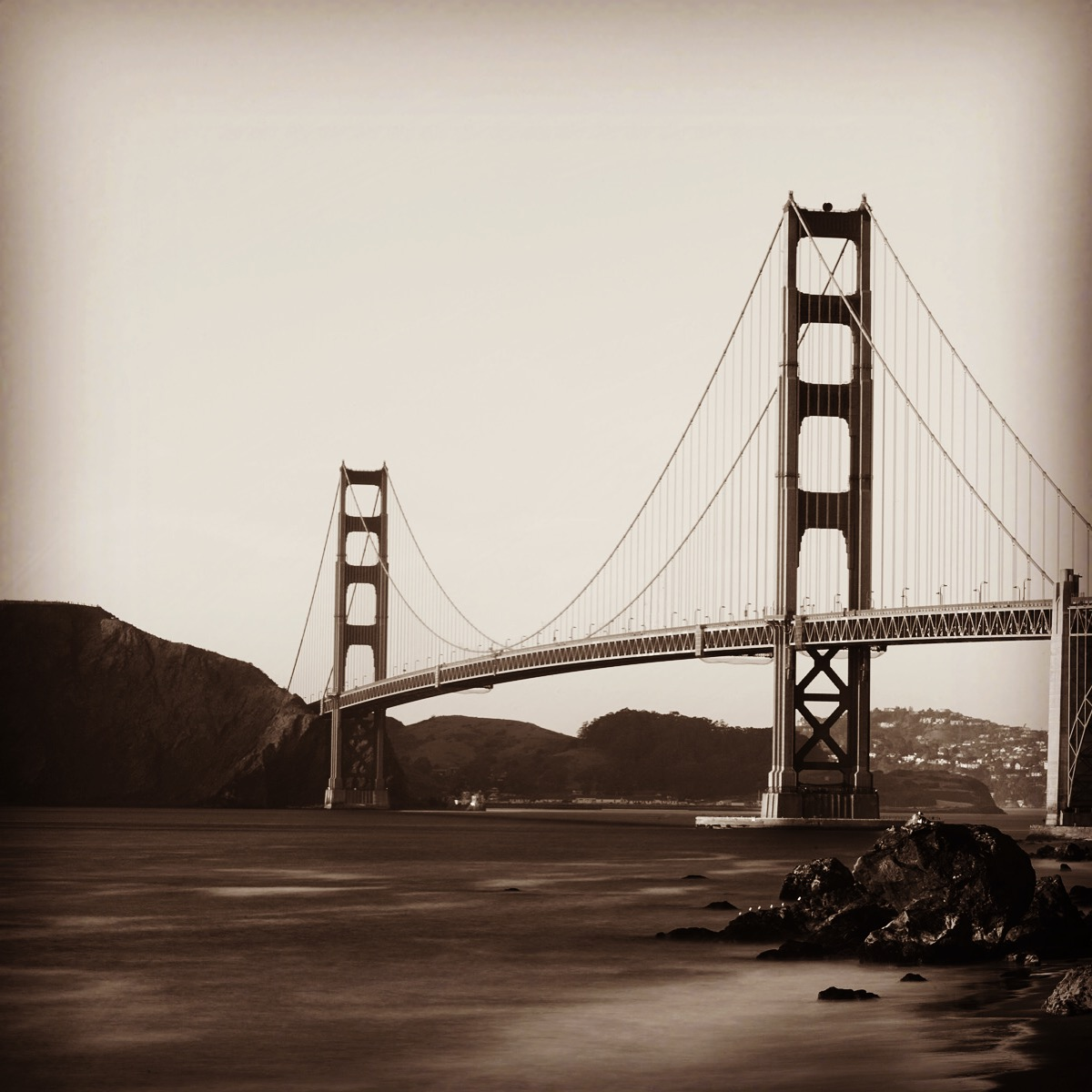 GG Bridge @ Sunset
