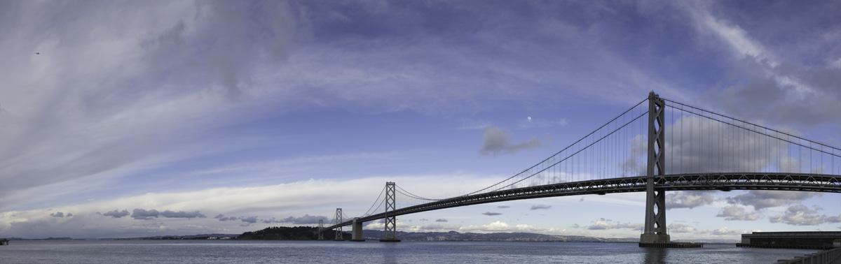 SF Bay Bridge Stitch