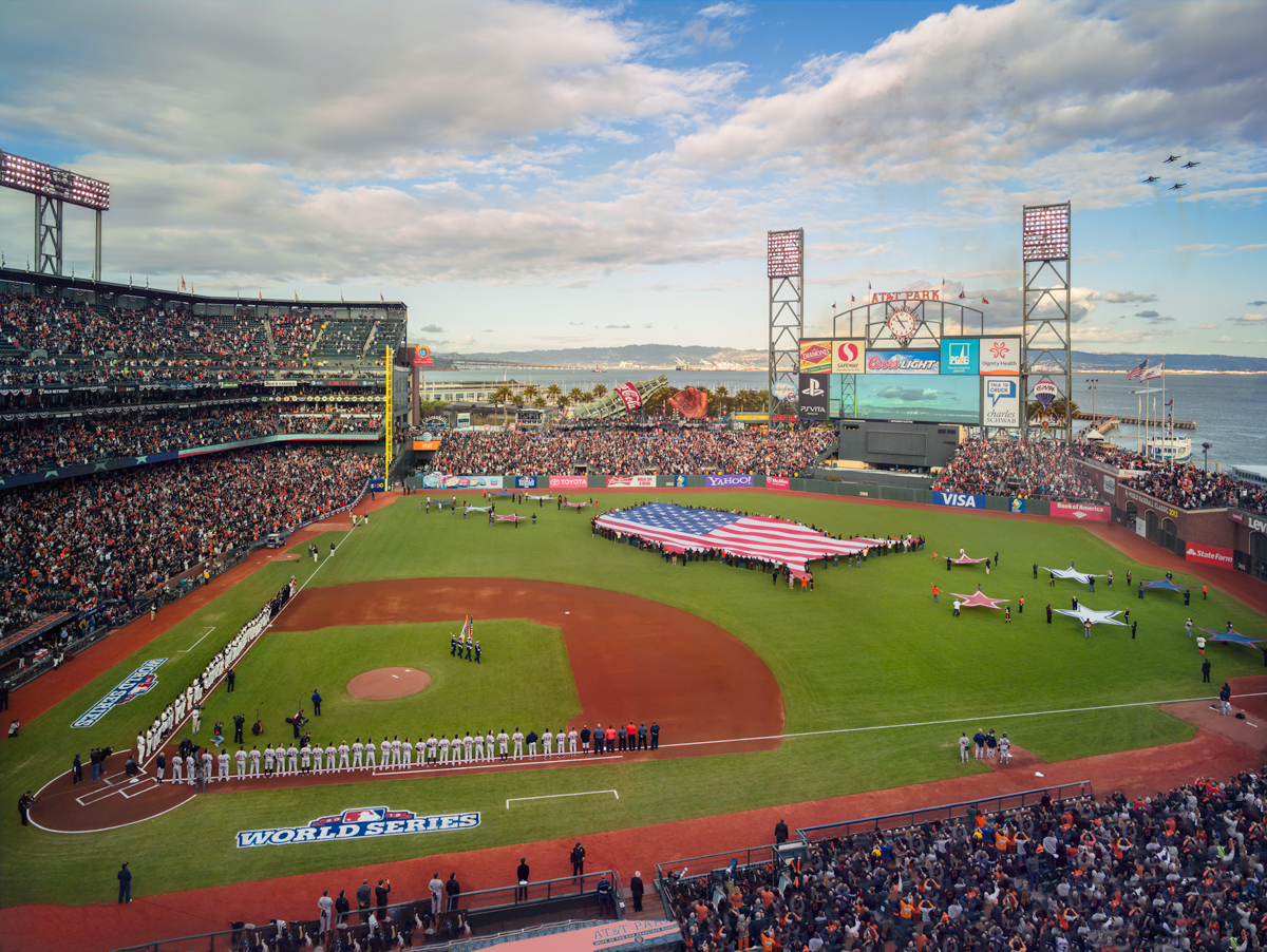 SF Giants World Series Game 2, 2014