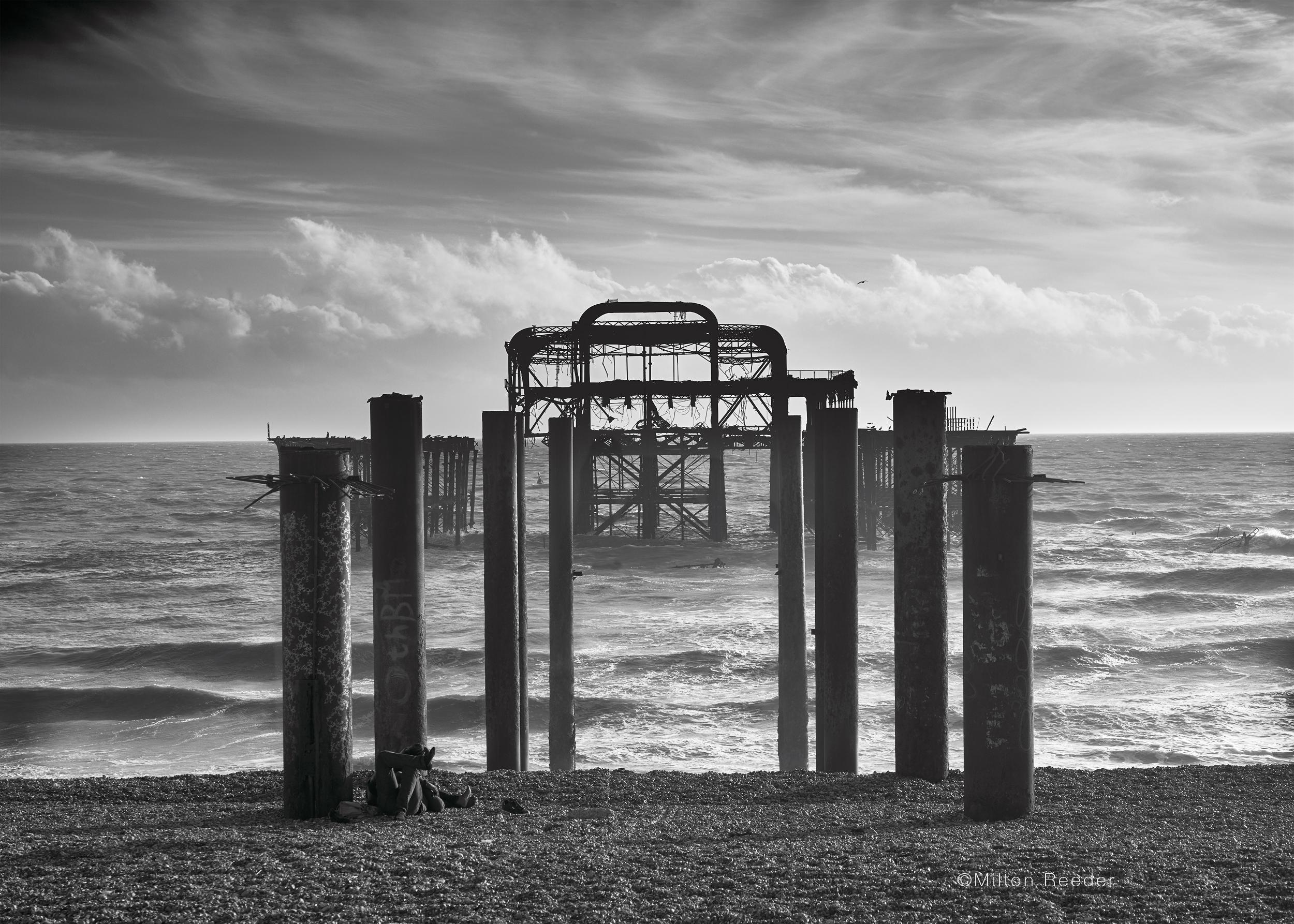 Abandon Pier, Brighton England