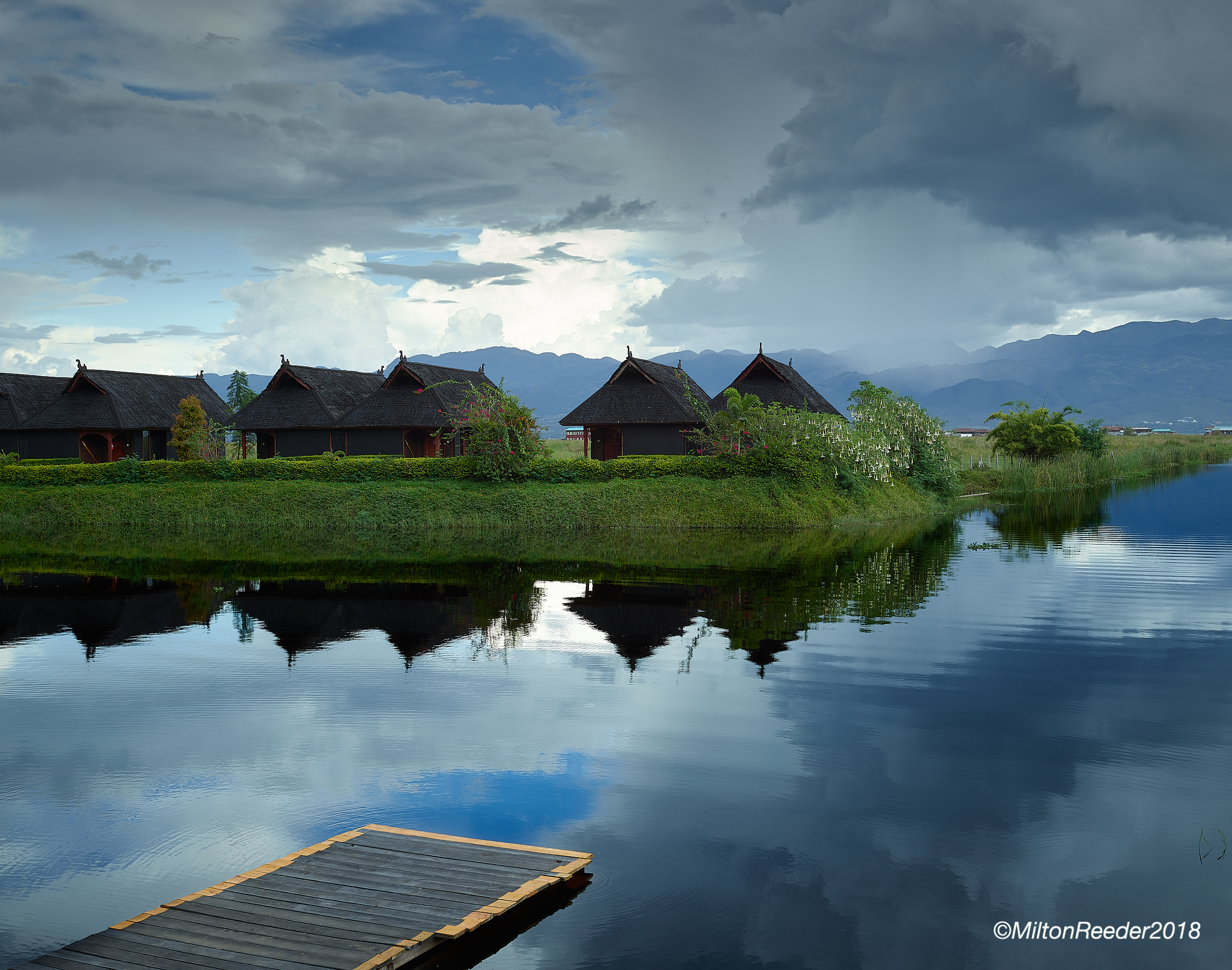Dock, Inle Lake, Myanmar