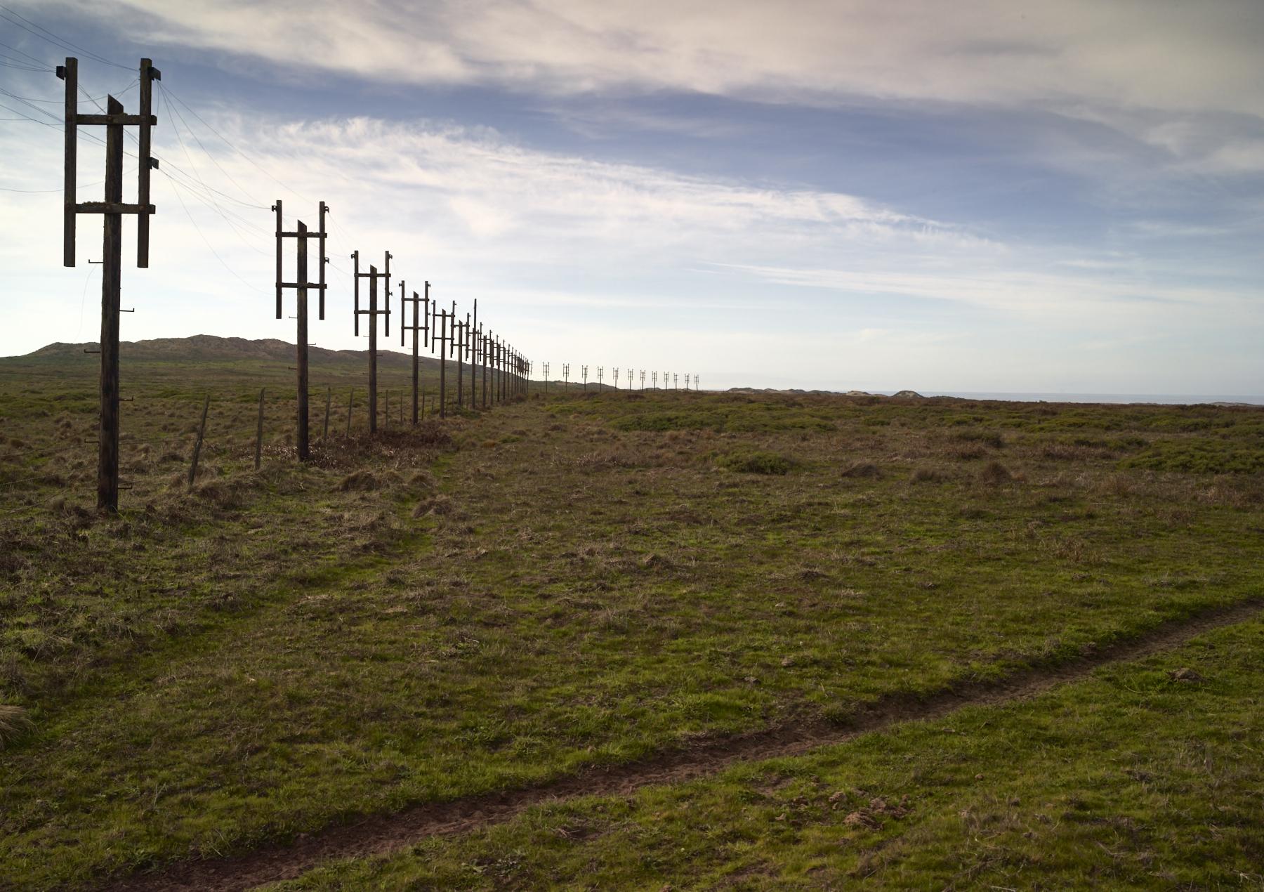 Pt Reyes Telegraph Poles