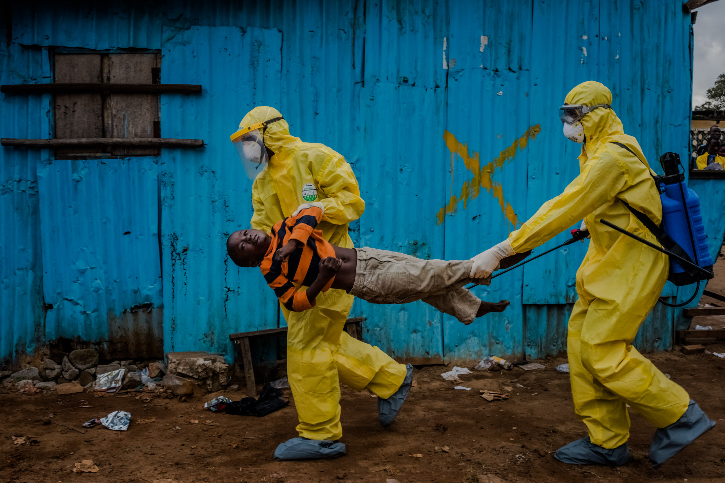 The Ebola outbreak in West Africa, first reported in March 2014, and believed by scientists to have started in late December with the death of a 2-year-old boy, thought to have contracted the virus from bats in the remote Guinean village of Meliandou, has rapidly become the deadliest occurrence of the disease since its discovery in 1976.     The current epidemic sweeping across West Africa has now killed more than all other known Ebola outbreaks combined. Over 9,000 people had been reported as having died from the disease in six countries; Liberia, Guinea, Sierra Leone, Nigeria, the US and Mali. The total number of reported cases is more than 23,000. Whilst numbers are in decline in Liberia, the epidemic is still continuing in Sierra Leone and Guinea.    Read More at the  New York Times .