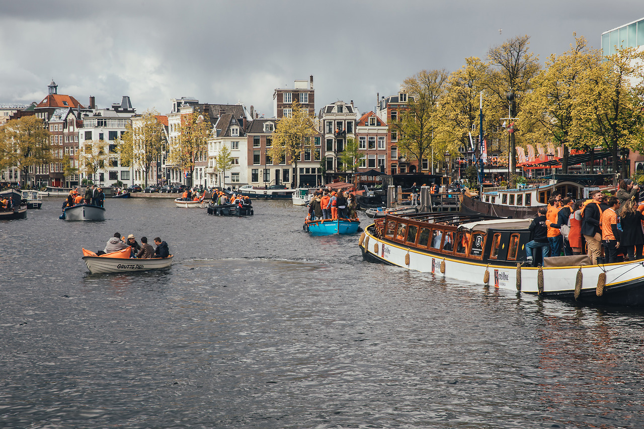King's Day in Amsterdam with Ketel One