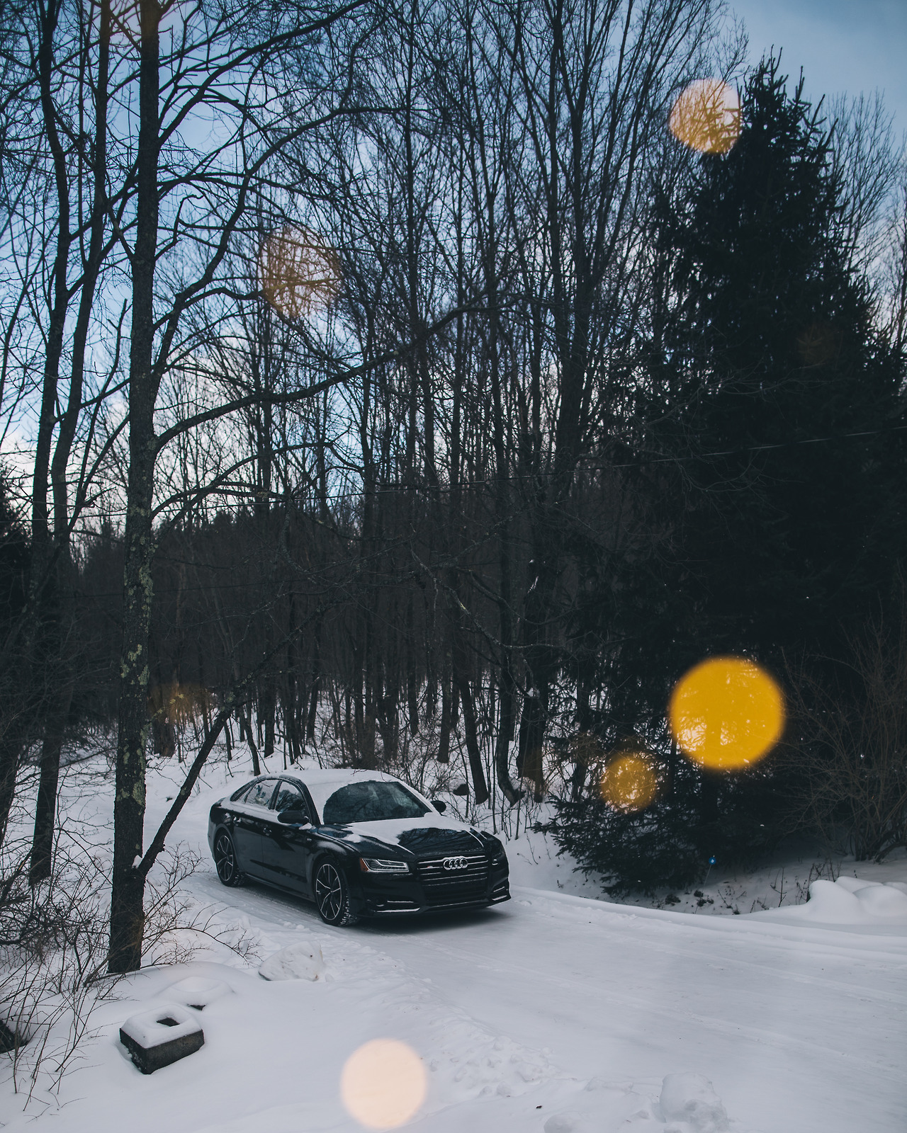 Upstate NY getaway with  Audi