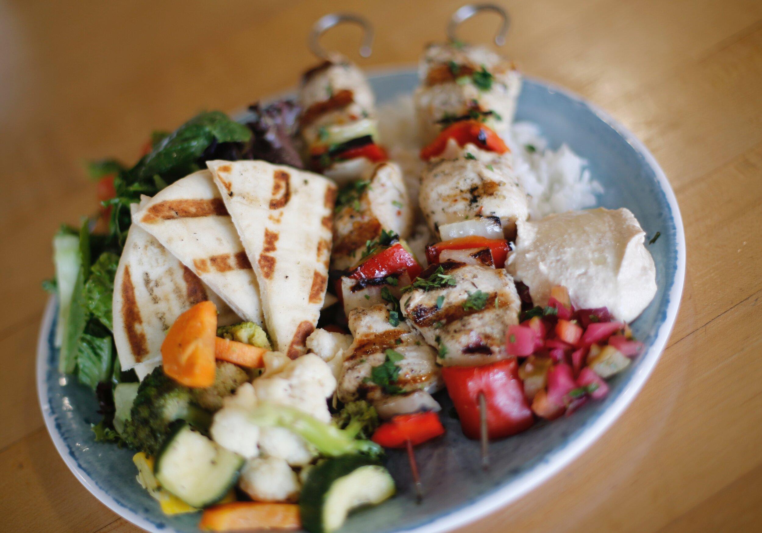 Chicken Kbobs Platter.JPG