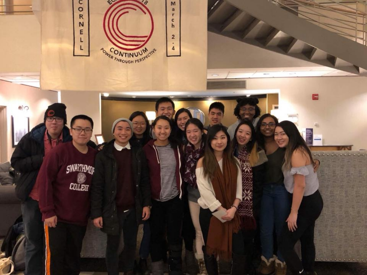 Students at East Coast Asian-American Student Union Conference on March 3rd, 2018. Photo Courtesy of Tiffany Wang '21