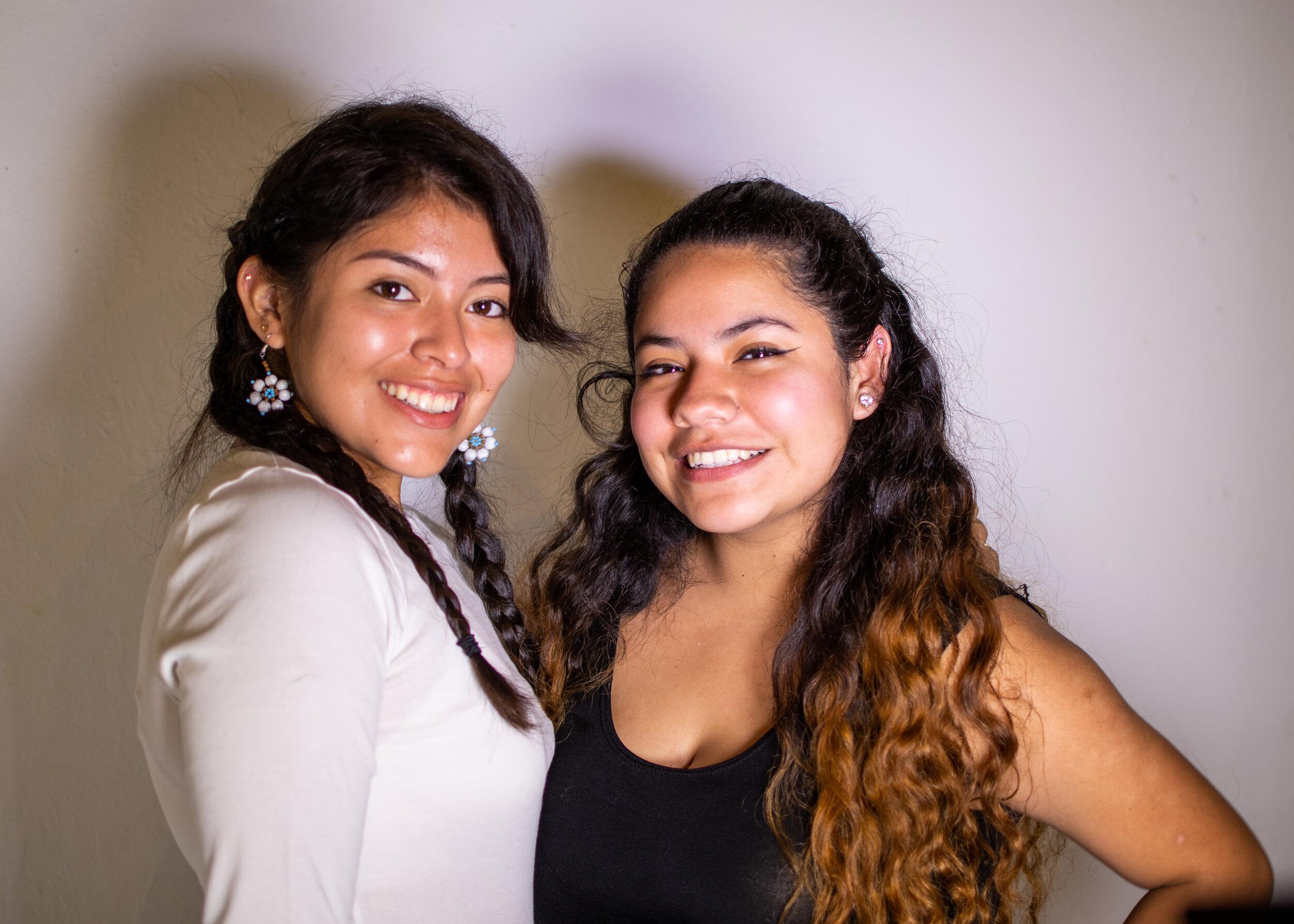 Carlee Márquez '22, she/her and Elizabeth Garcia '22, she/her