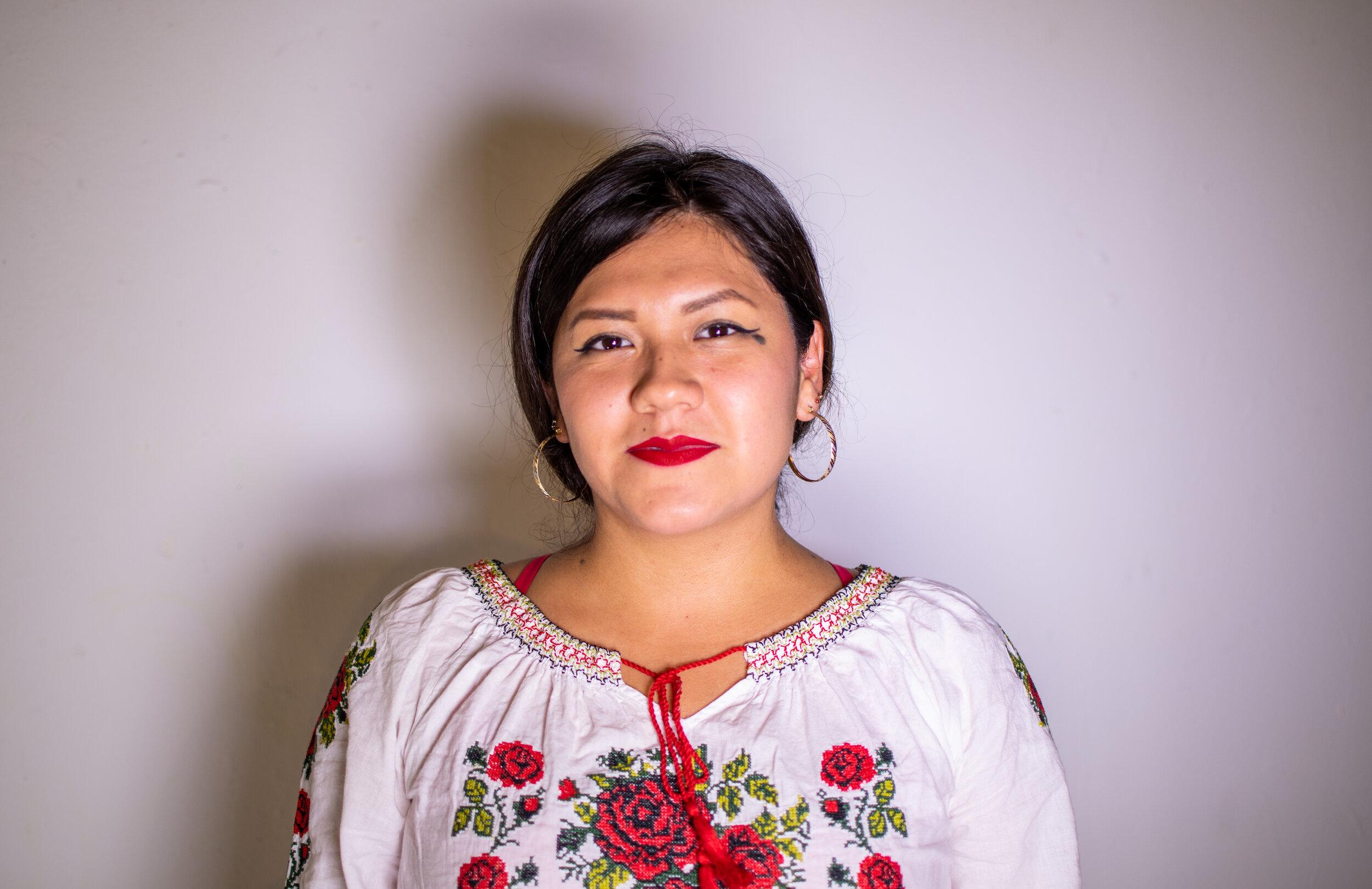 Olivia Vazquez Ponce '21, she/her